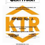 Certyfikat KTR
