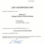 Certyfikat list autoryzacyjny
