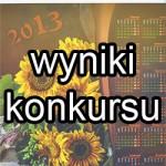 Wyniki konkursu z kalendarzami na 2013 r.