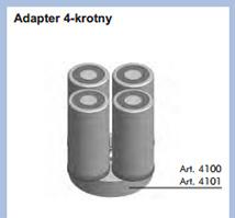 Poczwórny adapter