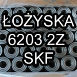 Łożysko kulkowe 6203 2Z SKF 17x40x12mm