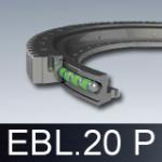 Łożyska wieńcowe EBL.20 P z kołnierzem (obrotnice)