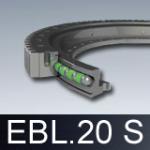 Łożyska wieńcowe EBL.20 S z kołnierzem (obrotnice)