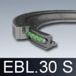 Łożyska wieńcowe EBL.30 S z kołnierzem (obrotnice)