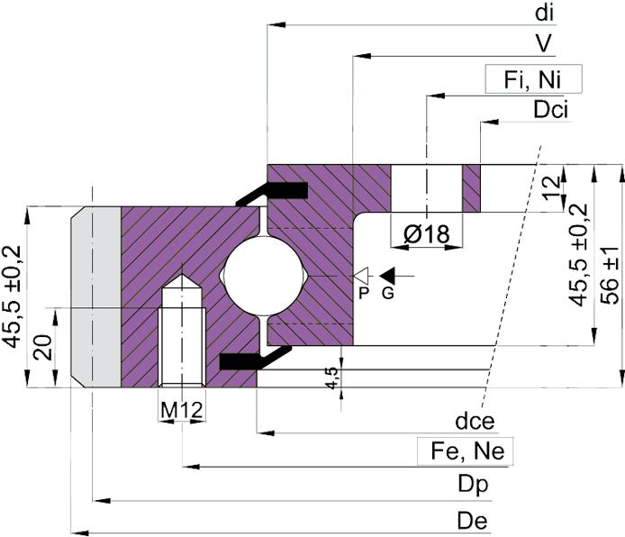 schemat-lozysko-wiencowe-ebl-20p