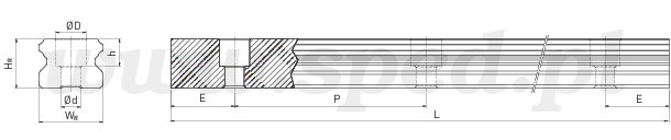 szyna profilowa egr-u