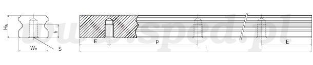 szyna profilowa egr-t