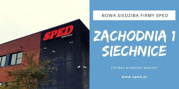 Nowa siedziba firmy Sped Sp. J.